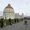 【冬のイタリア旅行記14】世界遺産 ピサのドゥオモ広場と斜塔
