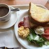 食費の節約はモーニングサービスで。ベッスクコーヒーで490円のブランチを楽しむ。