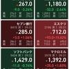 久しぶりの日本株売却、米国株V購入、ワンタップバイ