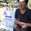渡の2回目の選挙参加