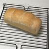 リキュールパン、卵バーガーとハッシュドポテト
