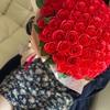 赤い薔薇108本🌹