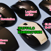 BUFFALO Bluetooth BlueLEDマウス 静音/5ボタンを購入。クリック音の比較