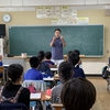 山崎小学校へ