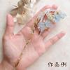 【UVレジン作り方】簡単カワイイ♪ボタニカル蝶のかんざしの作り方