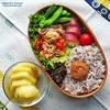 #884 豚肉とセミドライトマトのマリネの炒め弁当