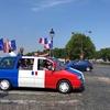 7月15日 地元フランスW杯決勝戦の日のパリ ヤバい、撤収だ!