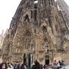 弾丸バルセロナ2日目、メイン観光地、サグラダファミリアへ!