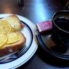 札幌市 wake cafe  /  焼いたレモンが乗っているトースト