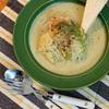 豆乳と小松菜のクリーミースープ