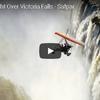 ウルトラライトプレーンから眺めるビクトリアの滝