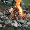 サーフィンして火を起こして酒飲んで、田舎生活は最高です。