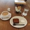 パフェとケーキとカフェオレと