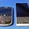 BlackBerry「KEY2」と「Boldシリーズ」の外観比較