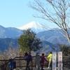 高尾~陣馬縦走 『冬の富士山』