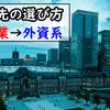 転職先の選び方 大企業→外資系