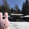 スキウサギの旅③身曾岐神社