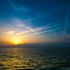 熊本県宇土市の御興来海岸で幻想的な夕陽を撮ってきた!