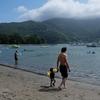 1歳児の初めての海水浴 in 戸田 御浜海水浴場