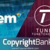 NEMブロックチェーンに曲を登録するためのCopyrightBankとTune Token Partnersによって供給されるCre8tor.app