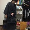 着物で和洋ミックスコーデ!洋服感覚でオールブラックに挑戦したゾ!