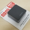 【cheero 2 port PD Charger(PD45W+USB)】PowerDeliveryが45Wにパワーアップ。小型の2ポート充電器が便利になりました