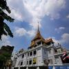 ワットトライミット(バンコク観光)