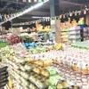 シハヌークビルでスーパーマーケット巡り
