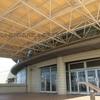 愛知県 スポーツ施設のシェルターテント