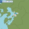 午後7時24分頃に熊本県熊本地方で地震が起きた。