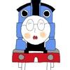 機関車トーマスになったサエちゃん