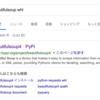 Python3 オフラインでpip installを利用する(whlファイルからのインストール)