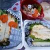 【紅葉狩りのお弁当】ダイソーアイテムを使った卵サンドと大山ペッパーポーク巻きアスパラ!