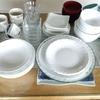 【断捨離】食器を全部出してみた。3人家族で90点は多い?少ない?
