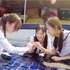 FetishLABふぇちらぼ作品紹介【台湾でのコラボ撮影wet作品】野外プールで大はしゃぎ♪