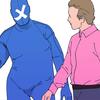 【1ページ漫画】メンタルマン