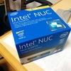Intel NUCを導入する。