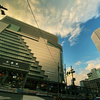★大阪駅と雲