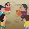 クレヨンしんちゃん 第1026話 雑感 風間君にしか出来ないスポーツだね。