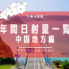 【中国地方編】NEDO地域別の日射量一覧。気になる日本海側の日射量は⁉