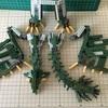 リオレイア のつくりかた その9 組み合わせと胴体