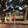 ハワイ旅行3日目〜カピオラニ公園朝ランニング、ハレクラニのフラショーとのサンセット〜