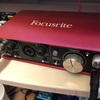 Focusrite Scarlett 2i2 Studio.