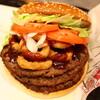 ハンバーガーを食う
