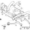 【BMW E60 M5】サスペンションアームの部品価格と交換費用について【足廻り】