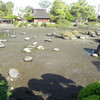 水前寺成趣園も紅葉