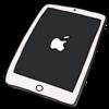 iPad Pro 12.9インチ のイラスト