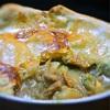 ホタテ入り、シチューのパイかけ(ポットシチュー)、エストラゴン風味