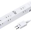 家電が多くても安心 サンワサプライ ACアダプタ対応レイアウト電源タップ 9個口 TAP-B40W