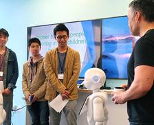 最先端テクノロジーの聖地へ!小中学生 シリコンバレー訪問記~Pepperのプログラミング成果も披露したよ!~